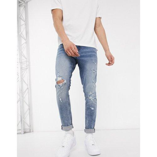 Jean skinny effet vieilli - New Look - Modalova
