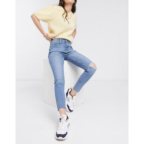 Jean skinny style disco à taille haute - moyen - New Look - Modalova
