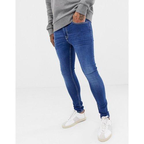 Jean super skinny - délavé - New Look - Modalova