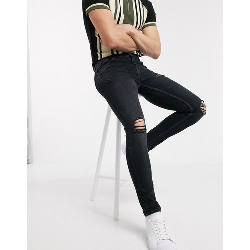 Jean super skinny déchiré - délavé - New Look - Modalova