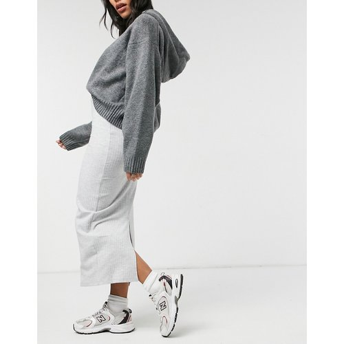 Jupe mi-longue côtelée - New Look - Modalova