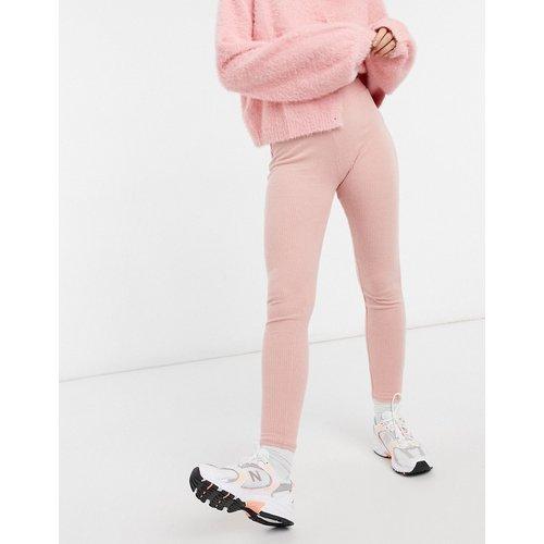 Legging confort côtelé - thé - New Look - Modalova