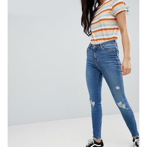 Lift and Shape - Jean skinny déchiré effiloché - New Look - Modalova
