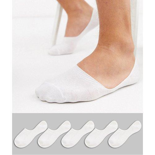 Lot de 5 paires de chaussettes invisibles - New Look - Modalova