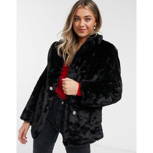 Manteau en fourrure - New Look - Modalova