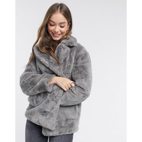 Manteau fausse fourrure - New Look - Modalova