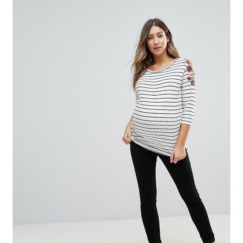Jegging skinny recouvrant le ventre - New Look Maternity - Modalova