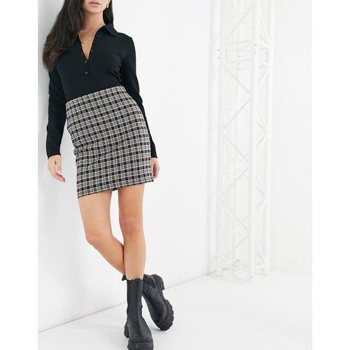 Mini-jupe à carreaux - New Look - Modalova