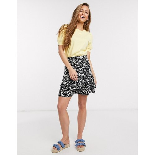 Mini-jupe imprimée à volants - New Look - Modalova
