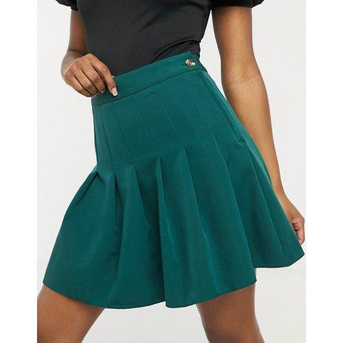 Mini-jupe plissée - foncé - New Look - Modalova
