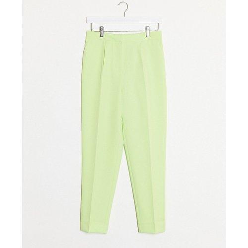 Pantalon coupe slim - citron (ensemble) - New Look - Modalova