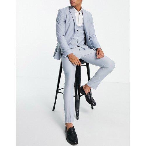 Pantalon de costume ajusté - pâle - New Look - Modalova