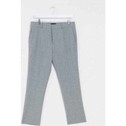 Pantalon de costume court ajusté - New Look - Modalova
