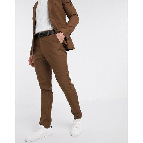 Pantalon de costume slim - foncé - New Look - Modalova
