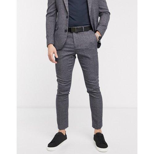 Pantalon de costume texturé - New Look - Modalova