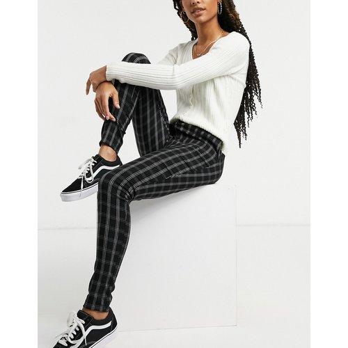 Pantalon slim à carreaux - Motif - New Look - Modalova