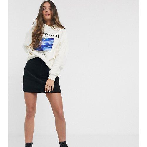 Mini-jupe en velours côtelé - New Look Petite - Modalova