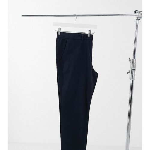 Plus - Pantalon chino slim - Bleu marine - New Look - Modalova
