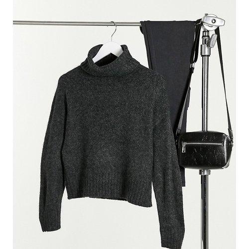 New Look - Pull col roulé à maille épaisse - anthracite - New Look Petite - Modalova