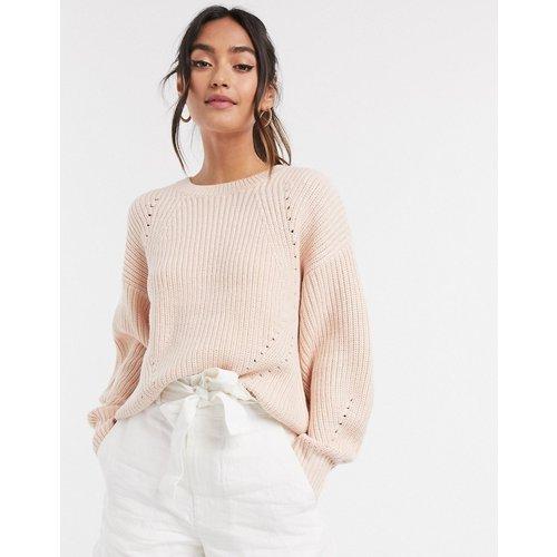 Pull côtelé épaules tombantes - moyen - New Look - Modalova