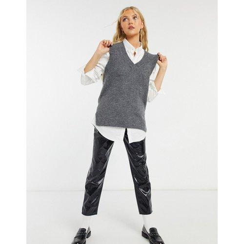 Pull sans manche en maille - New Look - Modalova