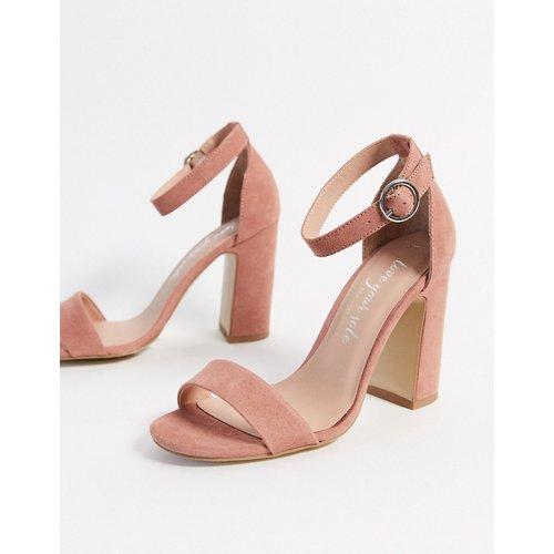 Sandales à talons carrés - New Look - Modalova