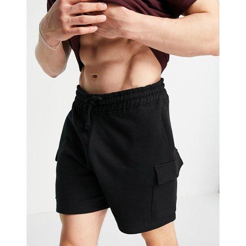 Short cargo en jersey - New Look - Modalova