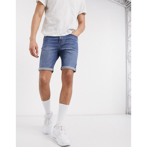 Short en jean skinny - clair - New Look - Modalova