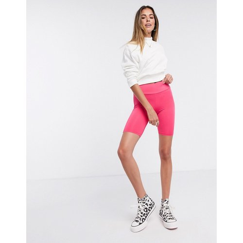 Short legging brillant - vif - New Look - Modalova