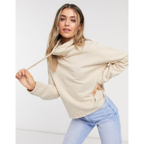 Sweat-shirt à col cheminée - New Look - Modalova
