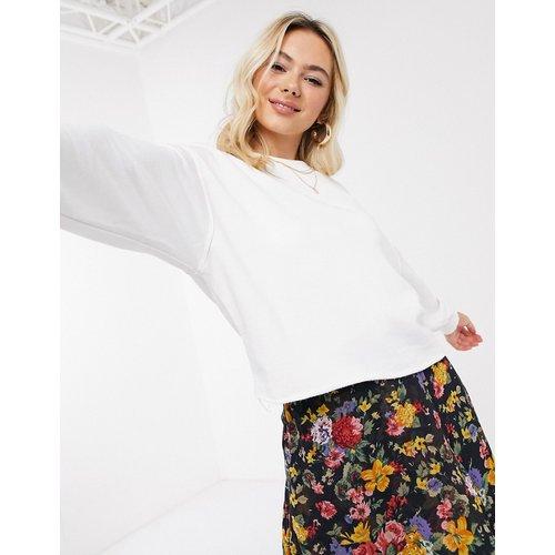 Sweat-shirt à découpes - New Look - Modalova