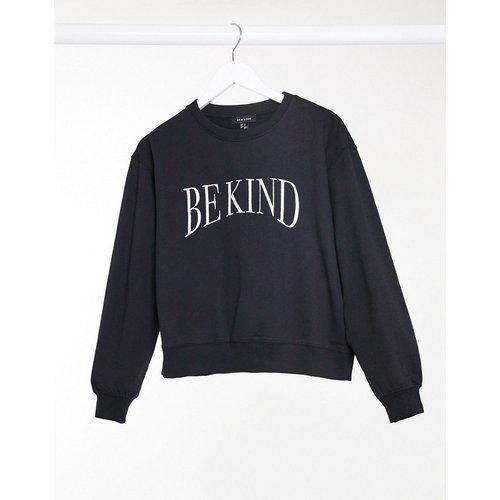 Sweat-shirt imprimé 'Be Kind' - New Look - Modalova