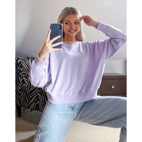 Sweat-shirt - Lilas - New Look - Modalova