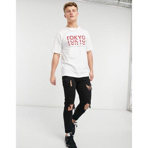 T-shirt à imprimé Tokyo - New Look - Modalova