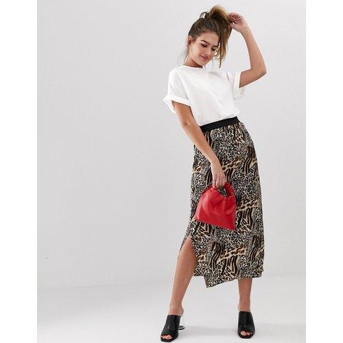 T-shirt à manches retroussées - New Look - Modalova
