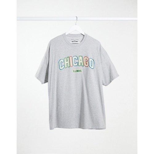 T-shirt avec imprimé Chicago - New Look - Modalova