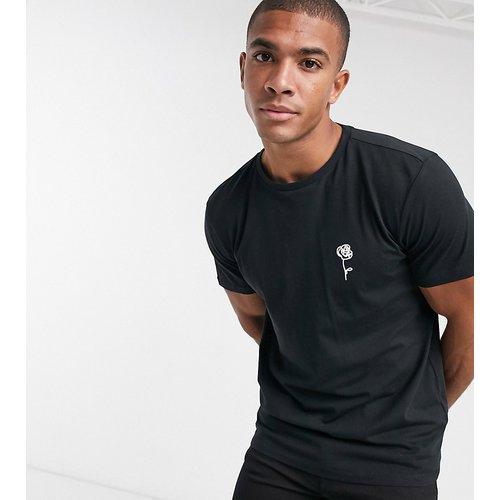 T-shirt imprimé rose esquissée - New Look - Modalova