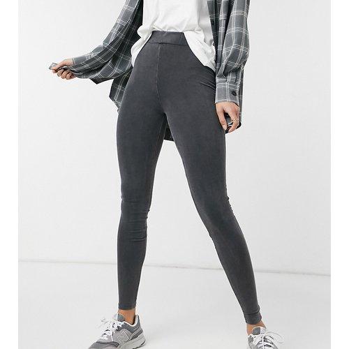 Legging délavé à l'acide - New Look Tall - Modalova