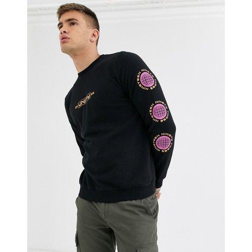 Unity Globe - Sweat-shirt à imprimé sur la manche - New Look - Modalova