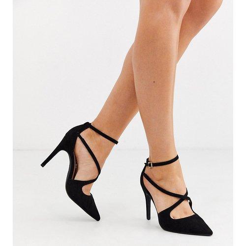 Chaussures en daim à talon - New Look Wide Fit - Modalova