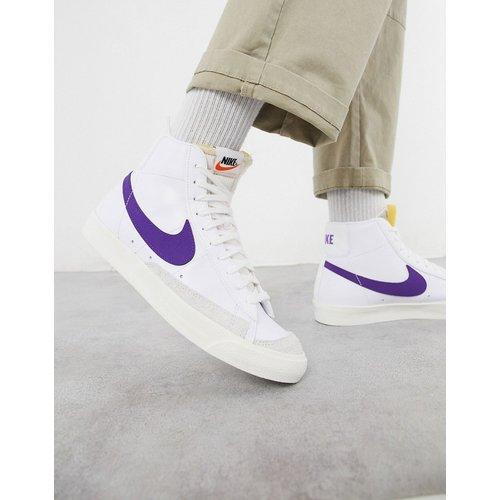 Blazer - Baskets en cuir mi-haute style 77's - /violet - Nike - Modalova