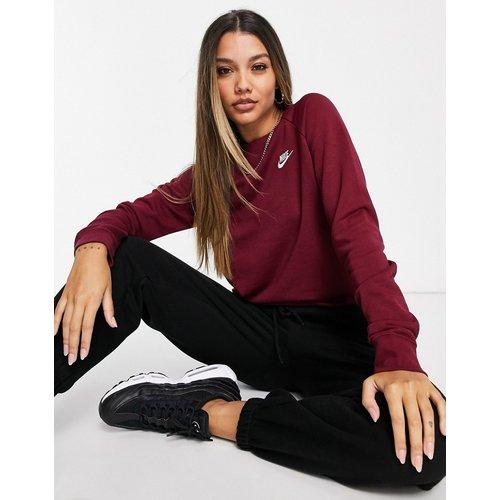 Essentials - Sweat-shirt ras de cou - Bordeaux - Nike - Modalova