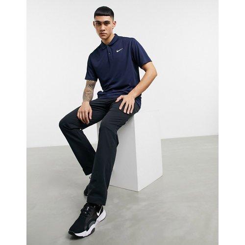 Nike - Golf Victory Dri-FIT - Polo avec logo virgule sur la manche - Noir - Nike Golf - Modalova