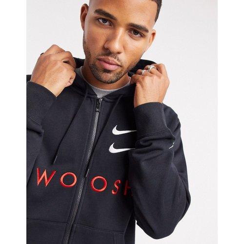 Hoodie à fermeture éclair et logo virgule - Nike - Modalova