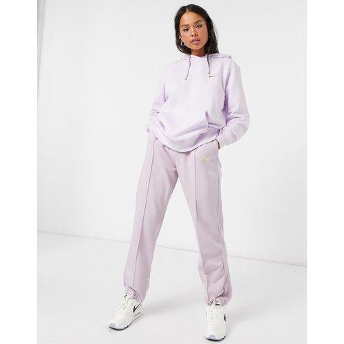 Hoodie oversize à petit logo virgule métallisé - pastel - Nike - Modalova