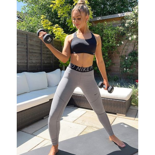 Nike Pro Training - Legging - Gris - Nike Training - Modalova