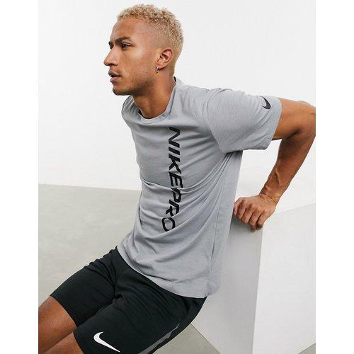 Nike - Pro Training - T-shirt avec logo effet dévoré - Nike Training - Modalova