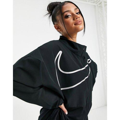 Nike - Pro Training - Veste zippée avec grand logo virgule - Nike Training - Modalova