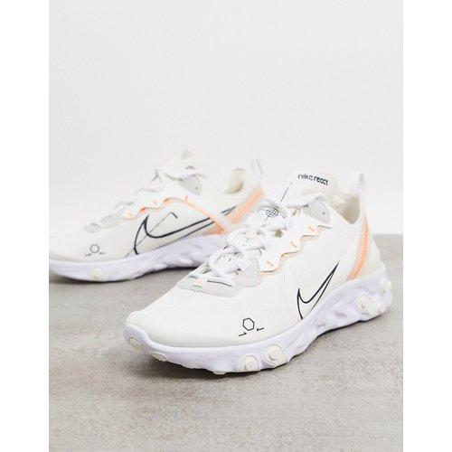 React Element 55 - Baskets - Voile - Nike - Modalova