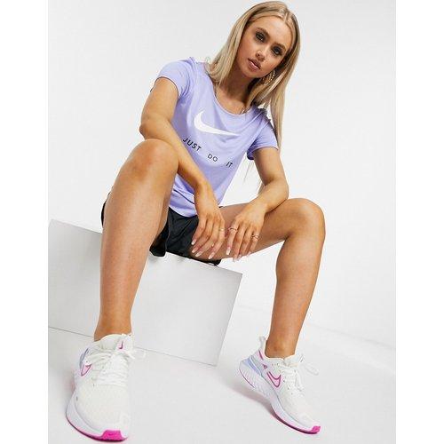 Just Do It - T-shirt à logo virgule - Nike Running - Modalova